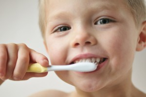 Practice good dental hygiene and regular dental check ups with your child.